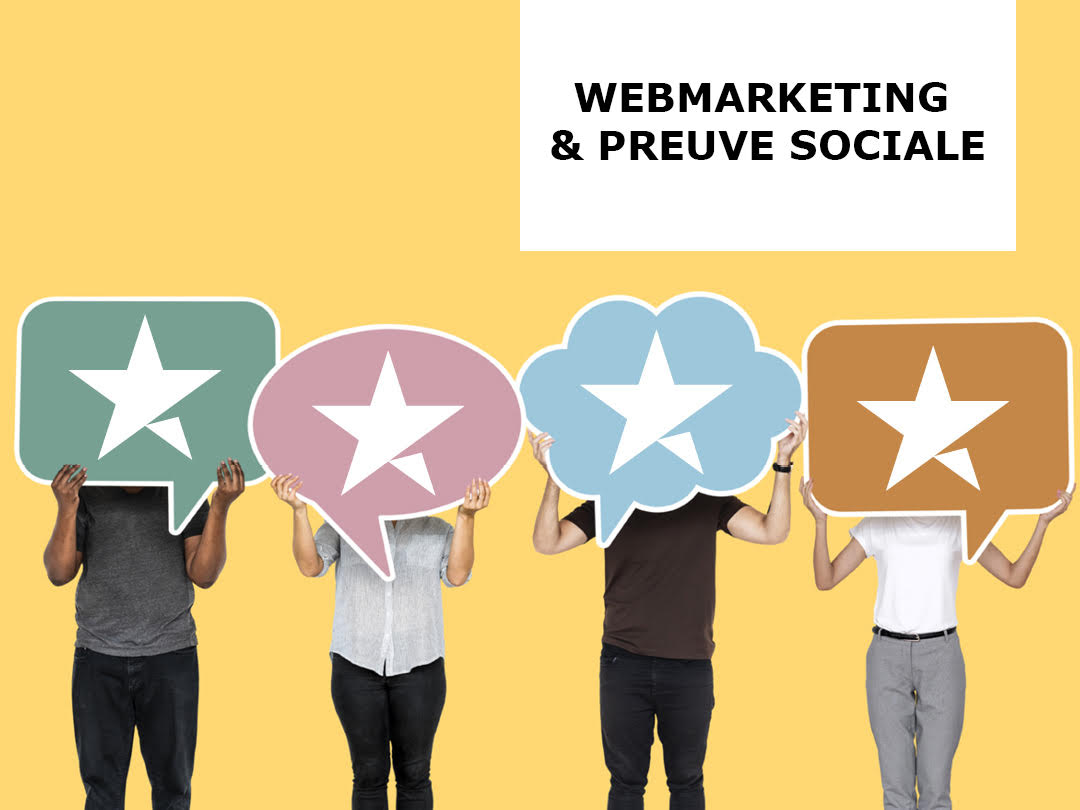 Webmarketing webinar: how to increase CTR and conversion thanks to social proof?