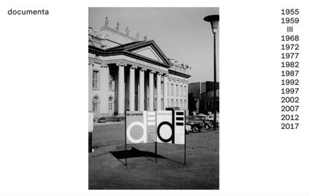 Documenta de Kassel website - Five-year exhibition of modern and contemporary art