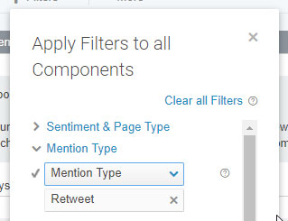 twitter mentions filter tool