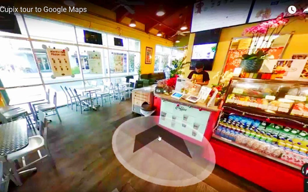 google maps virtual reality