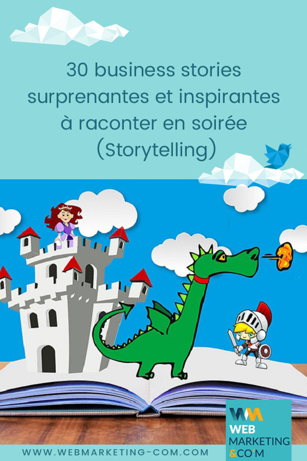 30 surprising and inspiring business stories to tell in the evening (Storytelling) via @webmarketingcom