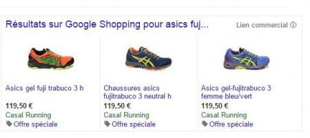 Example Special offer, promotion id Google shopping