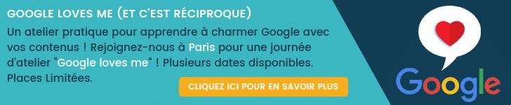 google loves me workshop banner
