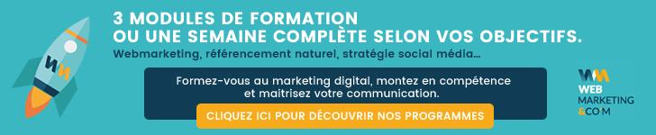 Webmarketing training