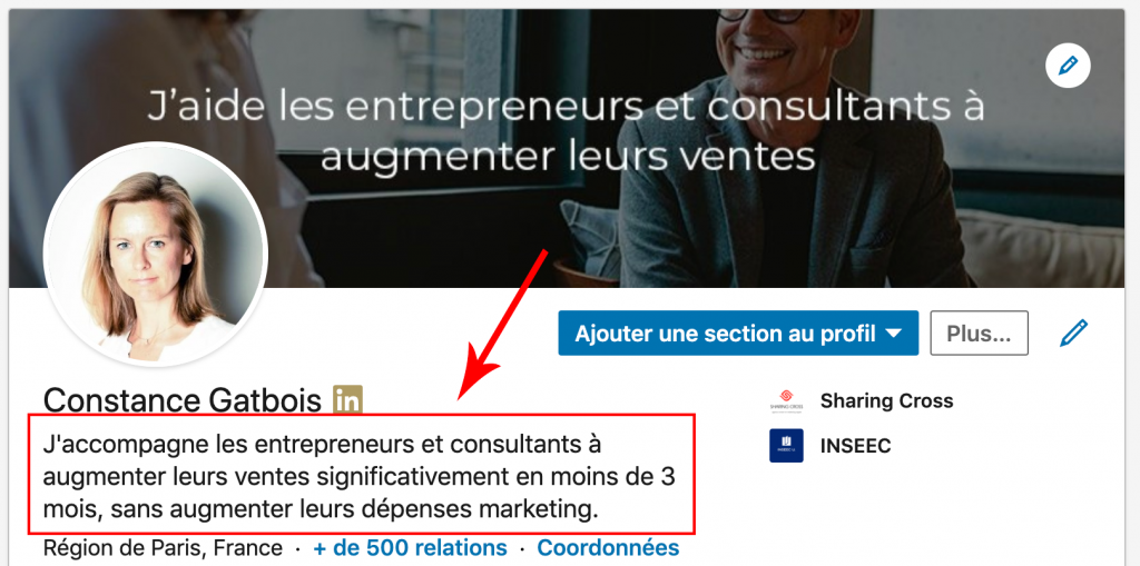Customer acquisition with Linkedin: set up your profile correctly