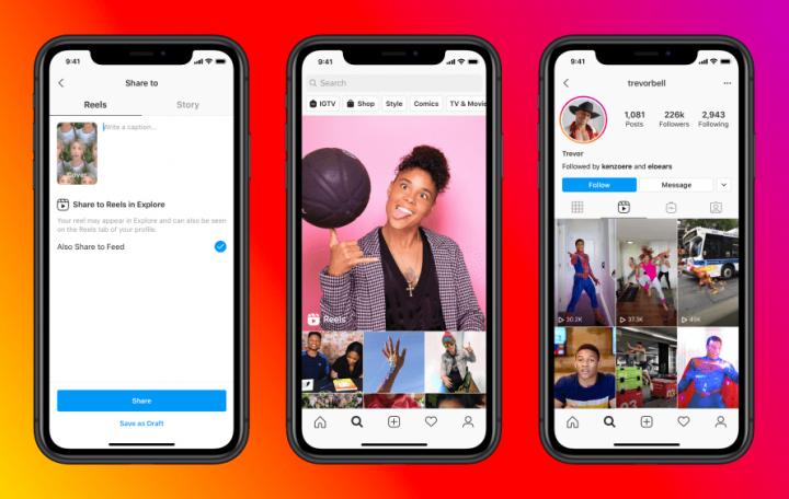 ▷ Instagram Reels videos coming soon to Facebook Watch?  2021