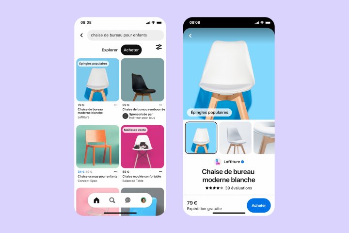 E-commerce: Pinterest launches new shopping features!