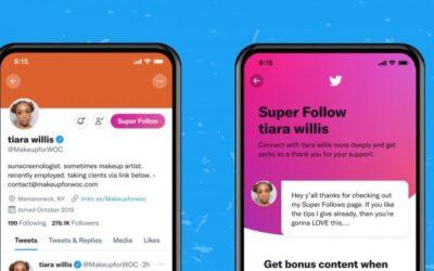 Twitter launches Super Follows, a new monetization option