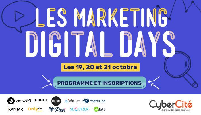 Digital Marketing Days: 3 days to boost your digital strategy